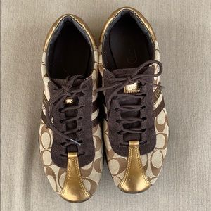 Coach sneakers.